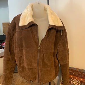 Spring sale Vintage suede cool jacket
